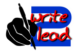 write to lead logo